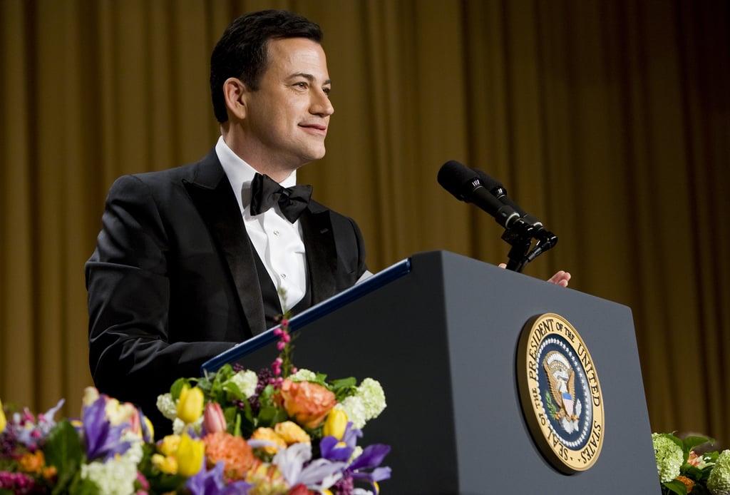 Jimmy Kimmel spoke at the White House Correspondant's Dinner.