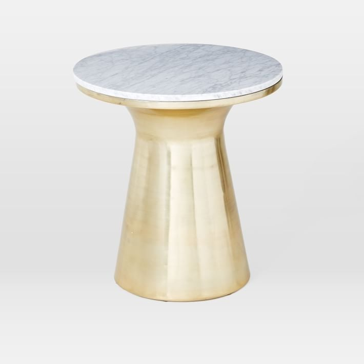 Marble Topped Pedestal Table ($399)