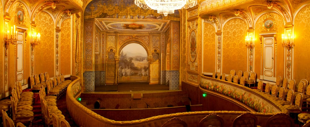 Chateau de Fontainebleau's Imperial Theatre Partly Restored