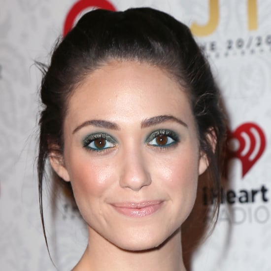 Emmy Rossum Green Eye Makeup