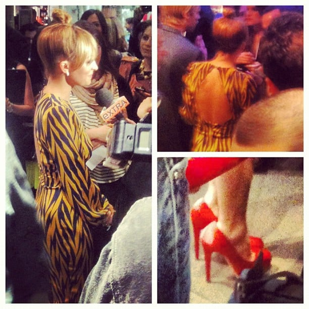 We got a glimpse of Nicole Richie at H&M's Fashion Star event.