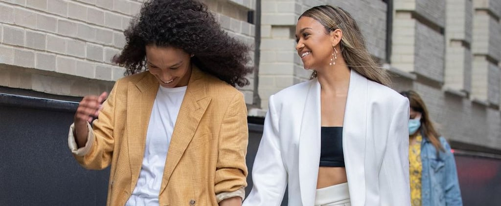 Madison Bailey and Mariah Linney Matching at Fashion Week