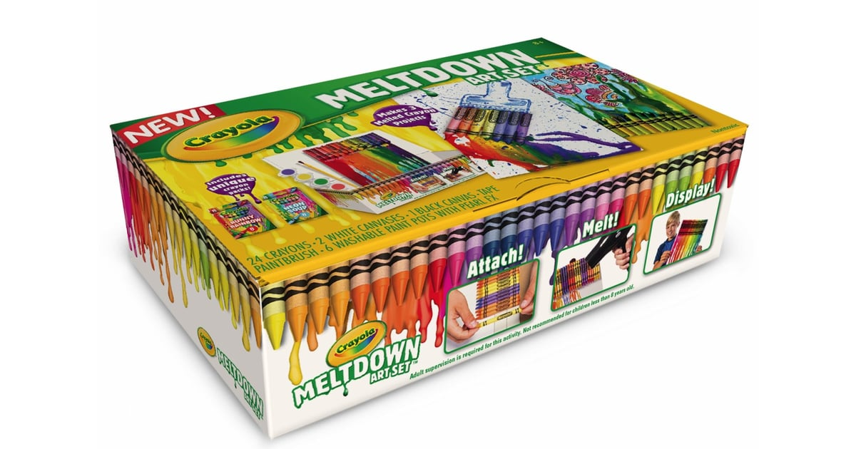 Best Crayola Toys For Kids : For year olds crayola meltdown art set best toys