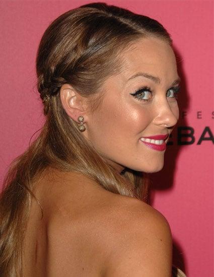 Pictures of Lauren Conrad's Double Braids