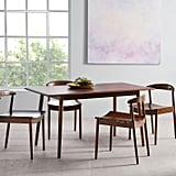 Lena Mid-Century Table and Chairs Dining Set