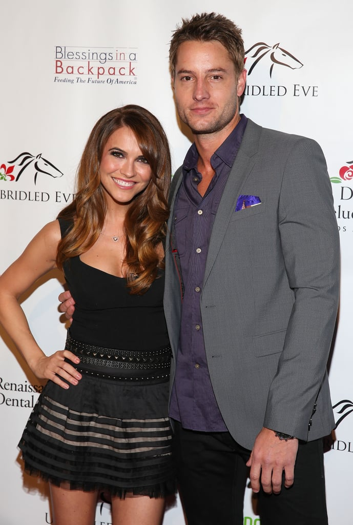 October 2013: Chrishell and Justin Go on Their First Date