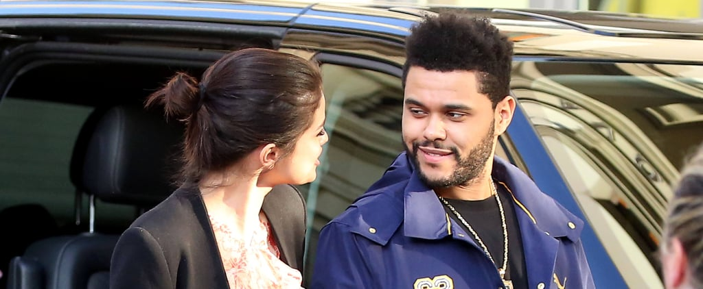 Selena Gomez Can't Keep Her Hands Off The Weeknd in Italy