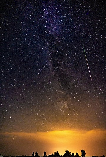 The 2021 Delta Aquarids Meteor Shower Peaks July 28 and 29
