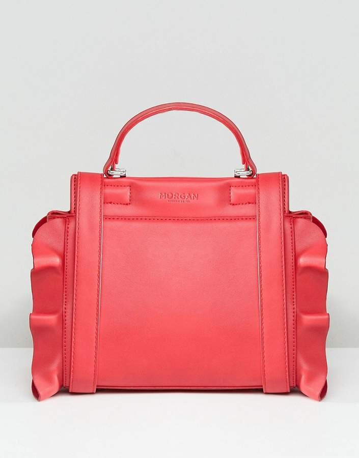 Morgan Bag With Frill Side Detail