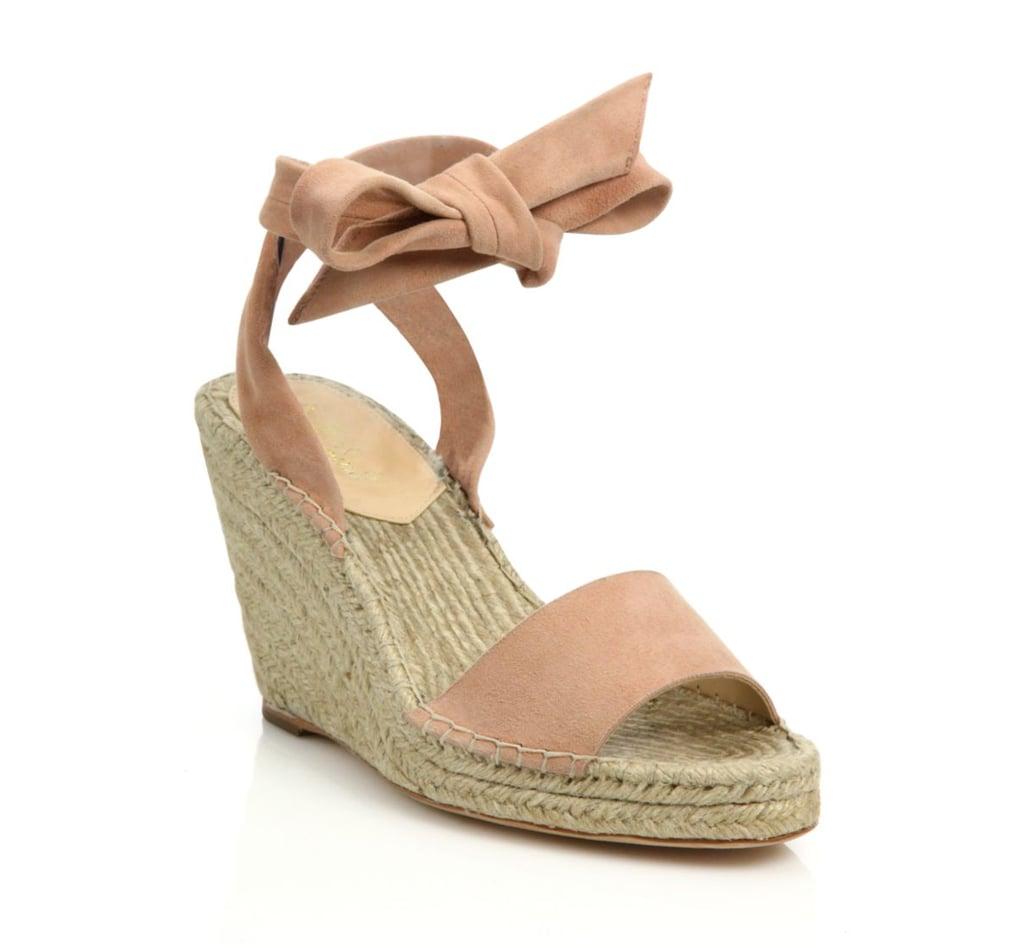 29a23c07006 Loeffler Randall Harper Suede Espadrille Wedge Sandals (£103 ...