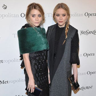 Pictures of Mary-Kate and Ashley Olsen at an Opera Event in NYC