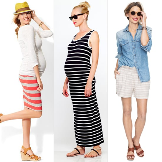 Spend the Summer in Stripes With 14 Chic Maternity Finds