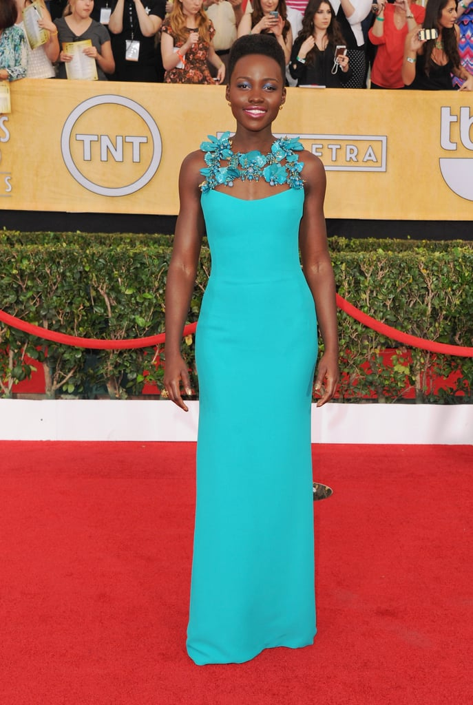 Lupita Nyong'o at the Screen Actors Guild Awards