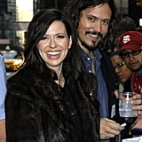 Joy and John Paul smiled together as they greeted fans after taping their performance for the Late Show With David Letterman last year.