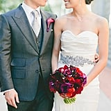 Chances are your bridal gown will be showing off your arms on your wedding day. When you're looking to tone up and shape up for the big day (and beyond), all these arm exercises from POPSUGAR Fitness will help you feel your best as you walk down the aisle. Photo by One Love Photography via Style Me Pretty