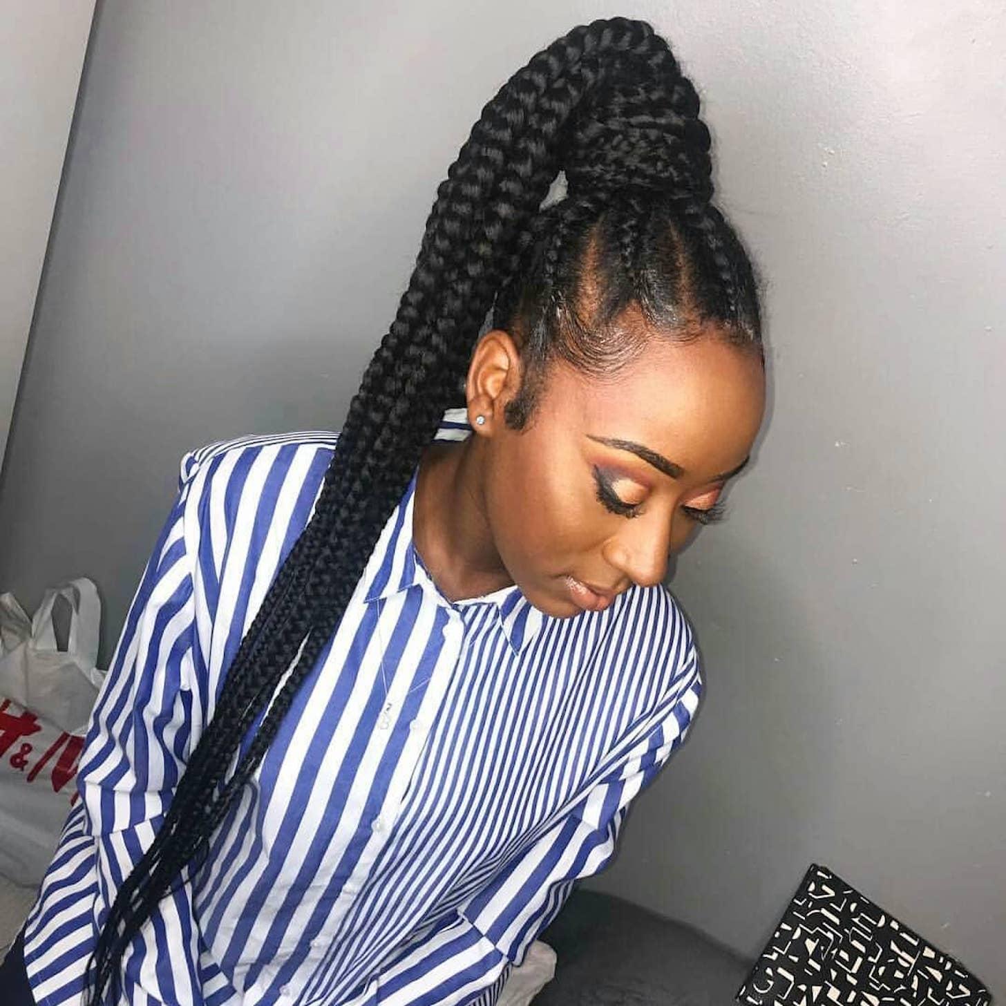 Best Ghana Braids Hairstyles Popsugar Beauty