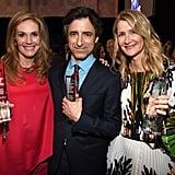 Julie Hagerty, Noah Baumbach, and Laura Dern at the 2020 Spirit Awards