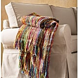 Art & Artifact Fringe Throw Blanket