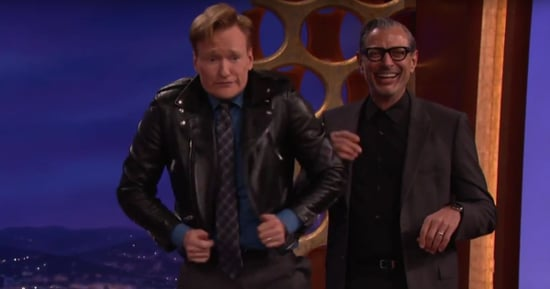 Jeff Goldblum and Conan O'Brien Swap Jackets