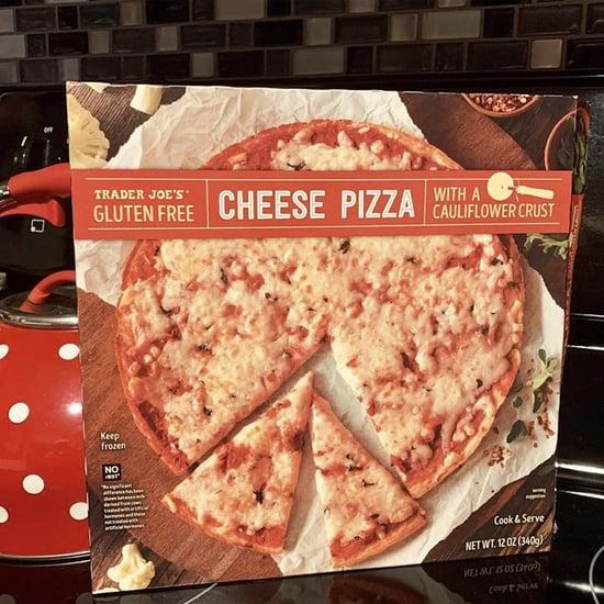 Trader Joe's Cauliflower-Crust Cheese Pizza