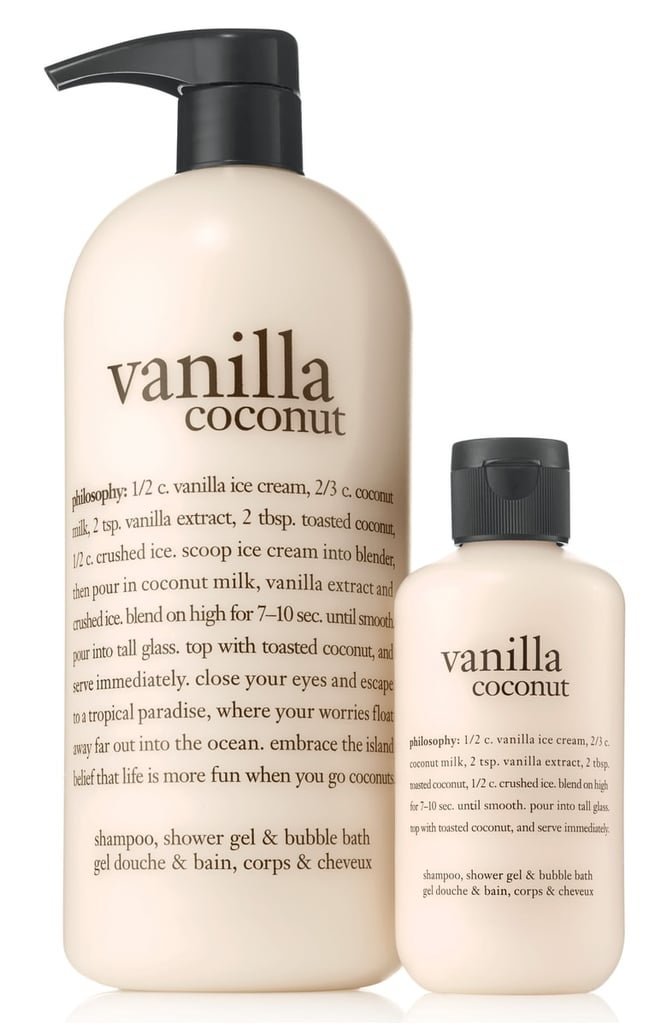 Philosophy Vanilla Coconut Shampoo Shower Gel Amp Bubble