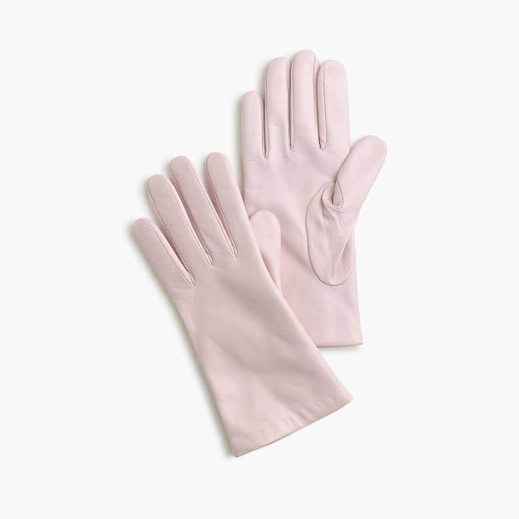 J.Crew Italian Leather Gloves ($128)