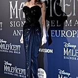 Angelina Jolie at the Maleficent: Mistress of Evil European Premiere