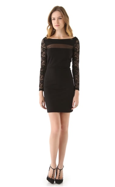 If you're an LBD loyalist, then this BB Dakota Mesh and Lace Dress ($98) is the posh alternative to your average styles.