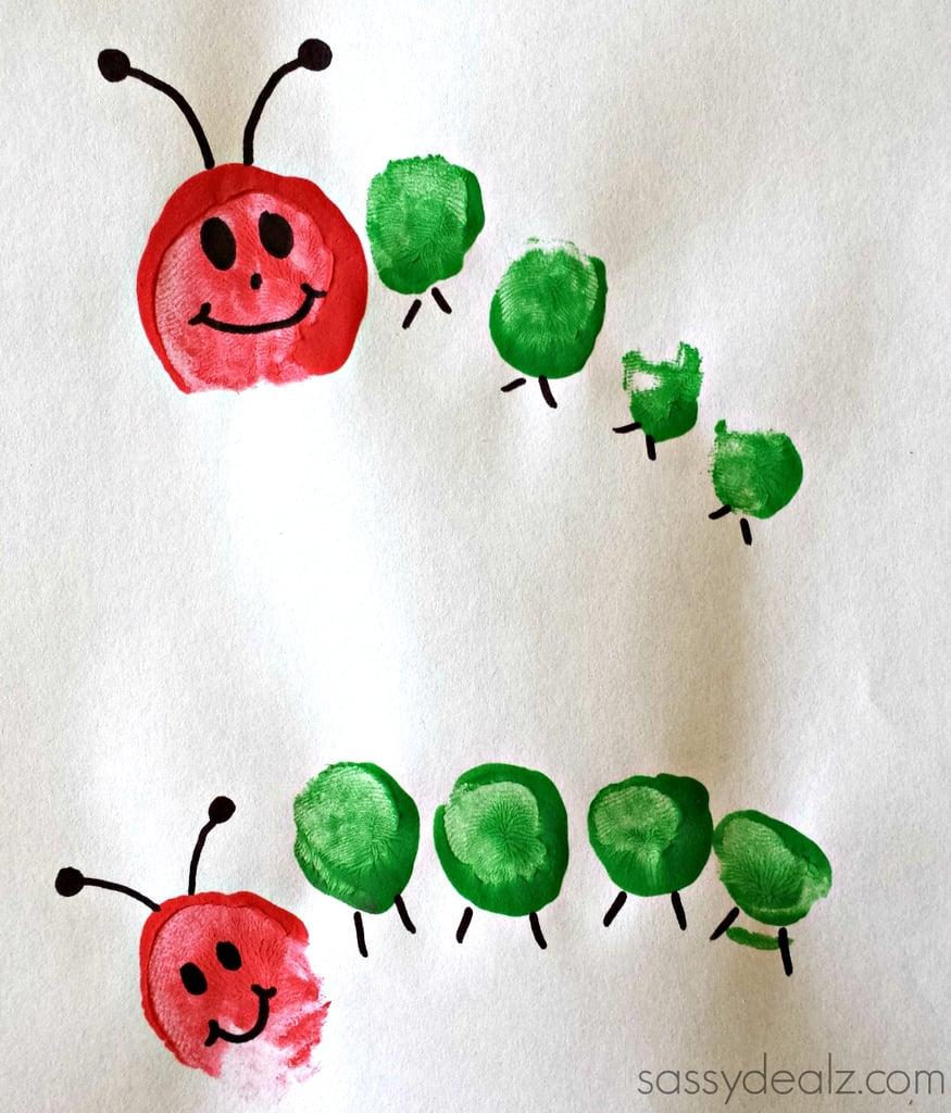 A Toe-Print Caterpillar