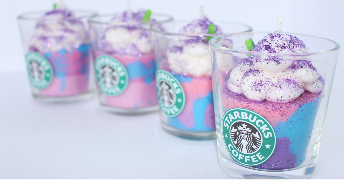 This Unicorn Frappuccino Candle Is THE Stocking Stuffer For Any Starbucks Addict