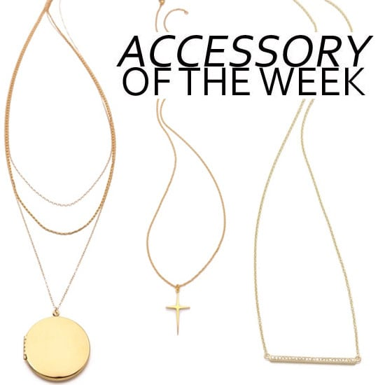 Accessory Of The Week: Our Top 10 Super-Fine Necklaces! Shop Jennifer Meyer, Gorjana, Tom Binns and More