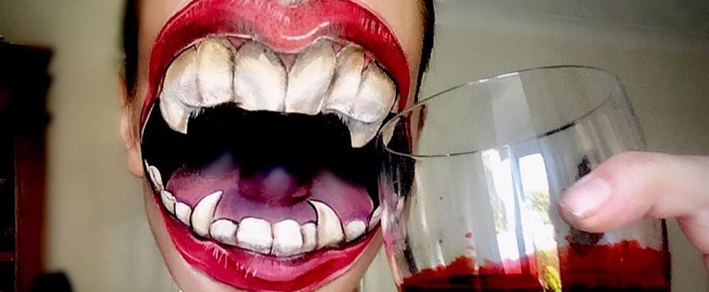 These Artists Transform Their Entire Faces Into Fang-Filled Mouths, and AHH