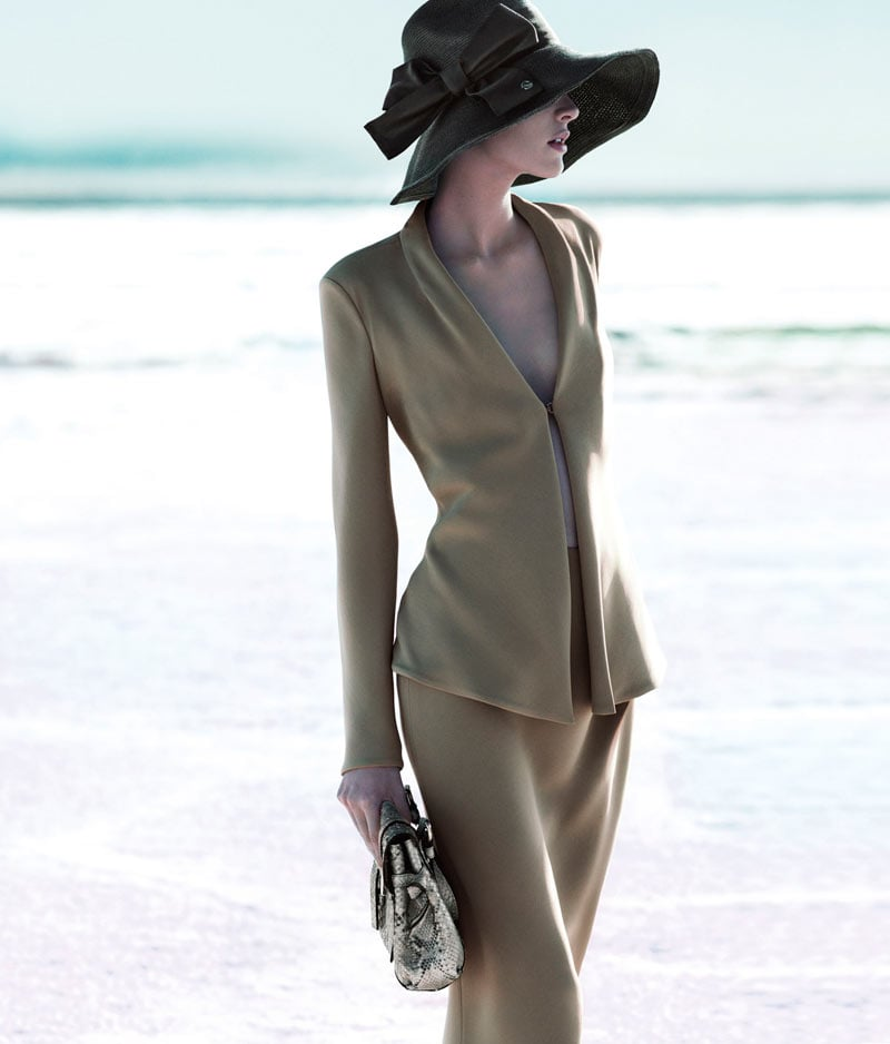 We love the '20s feel of this Giorgio Armani ad. Source: Fashion Gone Rogue