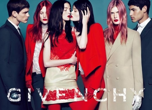 2010 Fall Givenchy Ad Features Transgender Model Lea T. 2010-05-07 13:00:22