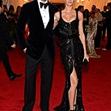 Tom Brady and Gisele Bundchen both looked perfect in black.