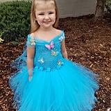 Cinderella-Inspired Gown