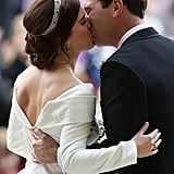 Princess Eugenie 1st Anniversary Message For Jack Brooksbank