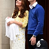 The Duchess of Cambridge's Dress When She Leaves the Hospital With Her Third Baby