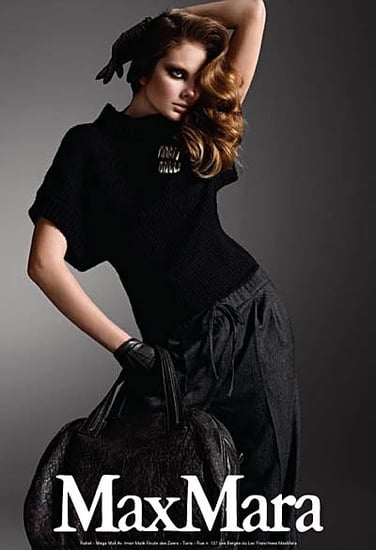 Eniko Mihalik for Maxmara Autumn/Winter 09-2010 ad