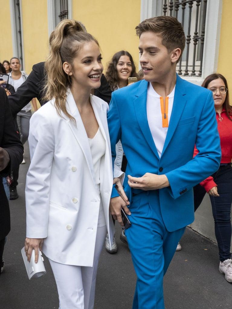 Barbara and Dylan at Milan Fashion Week in September 2019