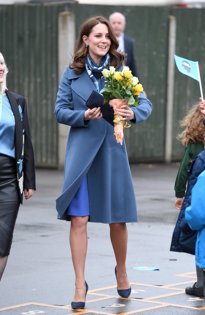 Kate Middleton Blue Seraphine Dress