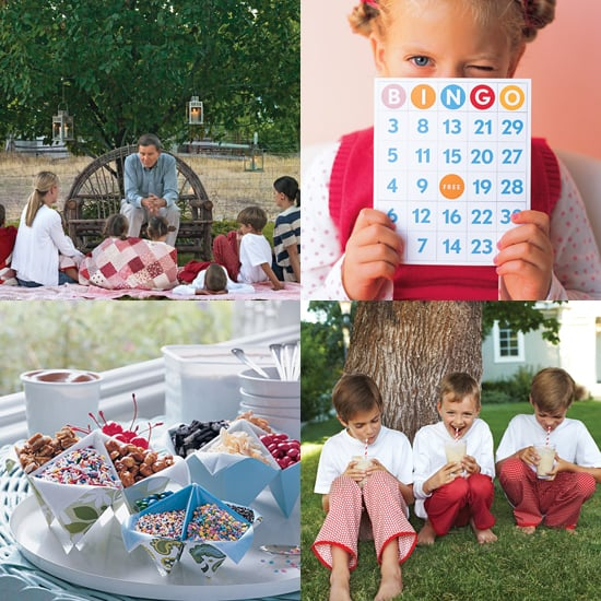 Outdoor Summer Birthday Party Ideas POPSUGAR Moms