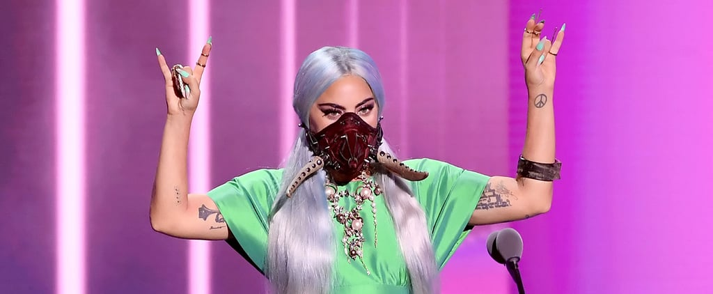 Lady Gaga's Face Masks at the MTV VMAs 2020