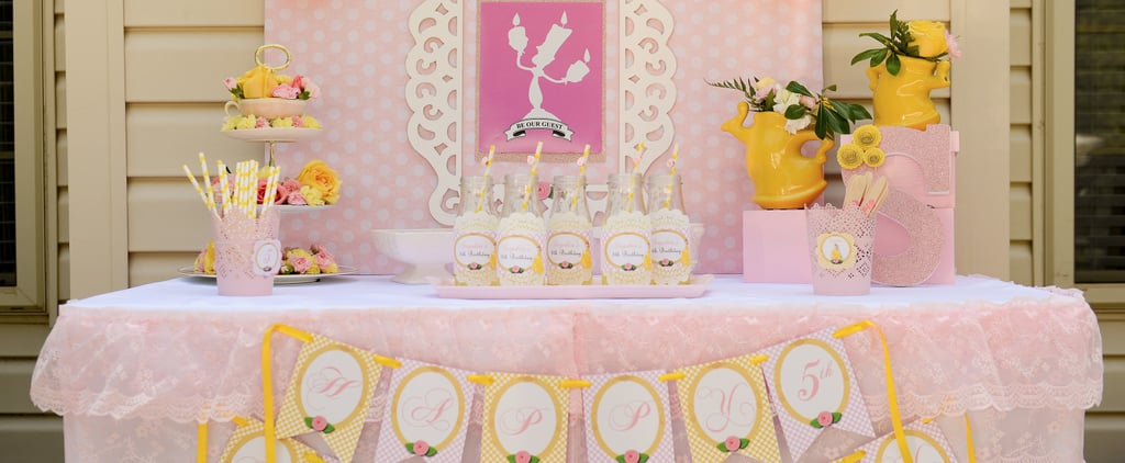 Your Kiddo Will Want to Be a Guest at This Belle-Inspired Bash