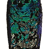 Topshop Velvet Sequin Pencil Skirt ($84)