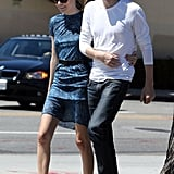 Kate Bosworth and Michael Polish stepped out together in Los Angeles.