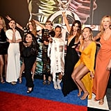 Taylor hit the red carpet with her entire girl squad in 2015.