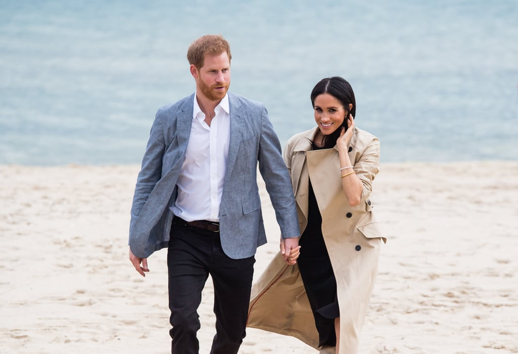 Pictures of Prince Harry and Meghan Markle in Melbourne