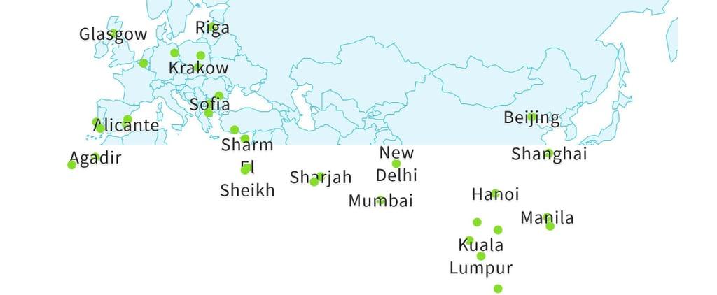 أرخص الأماكن حول العالم للإقامة في فنادق 5 نجوم