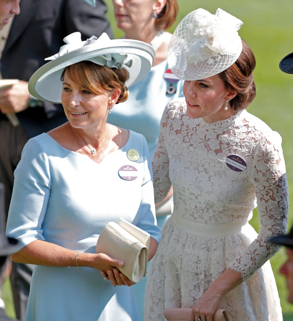 Kate Middleton and Her Mom Dress So Alike, We Wouldn't Be Surprised If They Share a Closet